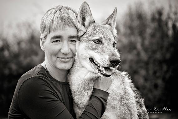 Tierfotografie - Frauchen liebt Ihren Hund