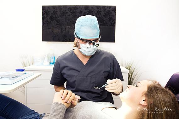 Praxisfotografie - Zahnarzt Dr. Martin Jaroch in Behandlung