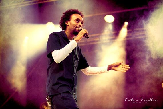 Konzertfotografie - Freundeskreis Konzert Afrob Schloss Salem