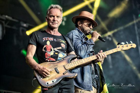Konzertfotografie Sting & Shaggy Konzert Schloss Salem Bodensee__06