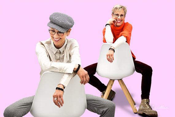 Das Element Stuhl zeigt Alltag und Verspieltheit