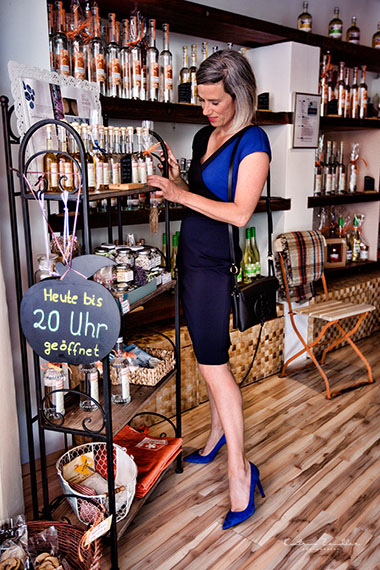 Auch im Ladengeschäft beim Einkauf kann Mode wirken