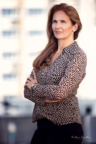 Businessporträt - Geschäftsfrau Coach