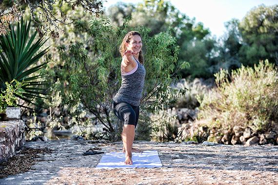 Businessfotografie - Yoga Körper und Geist im Einklang