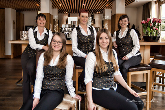 Business Fotografie - Team Hotel