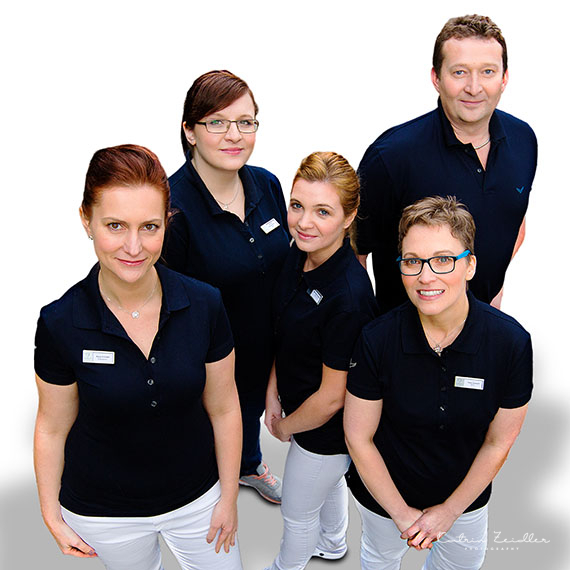 Businessfotografie - Zahnarzt Team