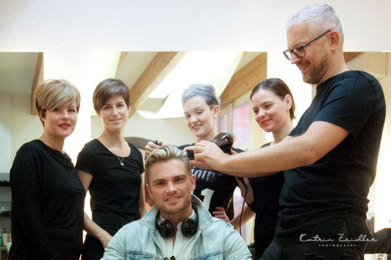 Businessfoto Team Friseur