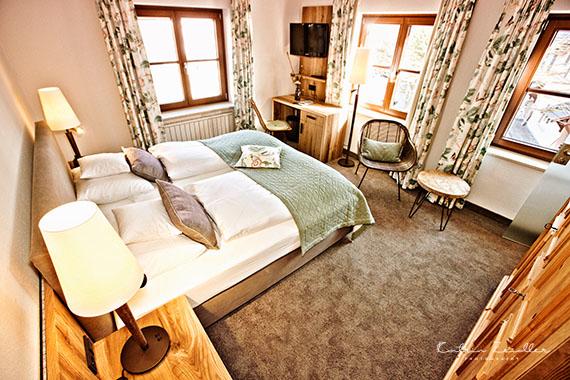 Business Fotografie - Hotelzimmer von oben