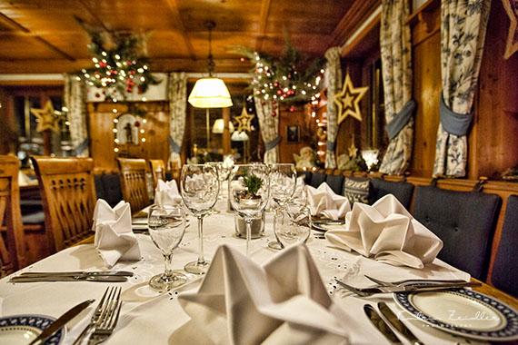 Business Fotografie - Restaurant gedeckte Tafel