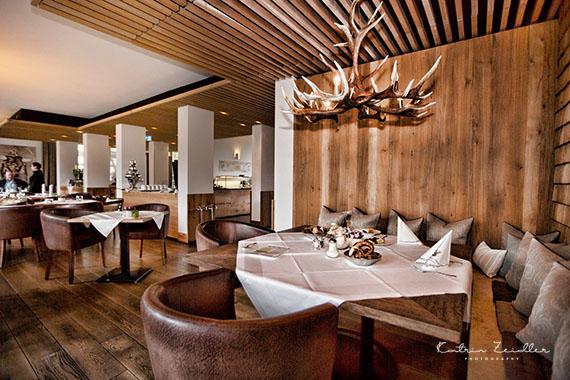Business Fotografie - Restaurant rustikales Ambiente