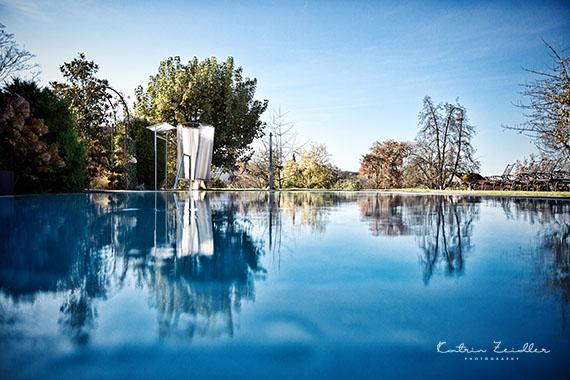 Business Fotografie - Hotel mit genialen Pool
