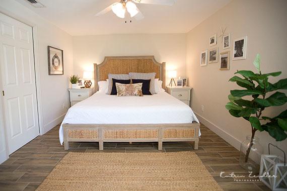 Businessfoto Ferienhaus Schlafzimmer Florida