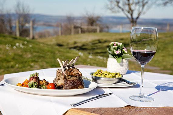Foodfotografie - Businessfoto Restaurant Lammcaree outdoor