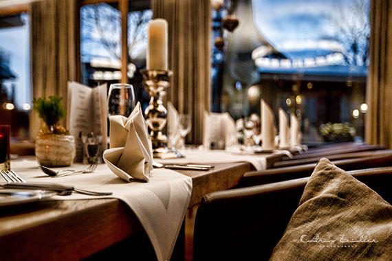 Businessfoto - Restaurant Tisch Kerzen