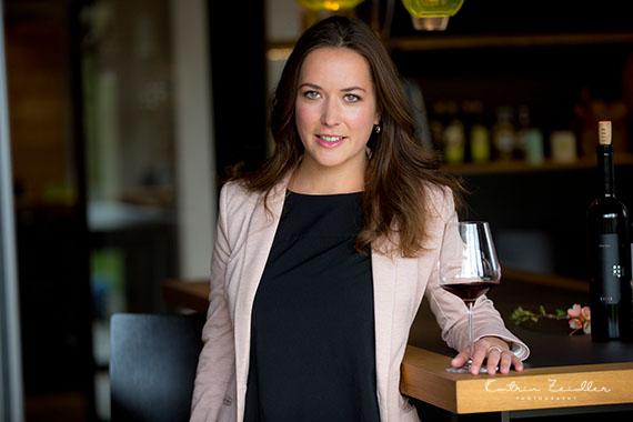 Businessporträt - Hintergrund Weingut