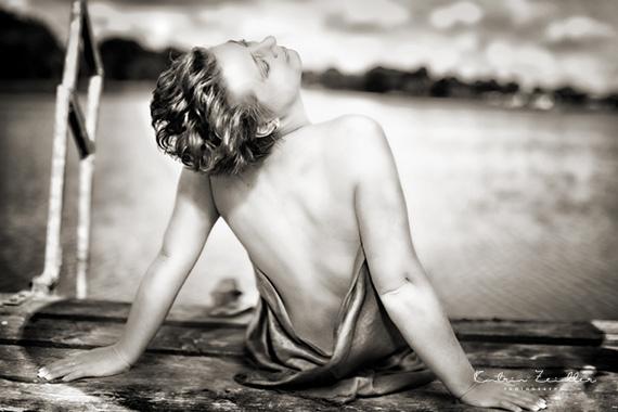 Erotikfotografie - ein erotischer Rücken kann auch entzücken
