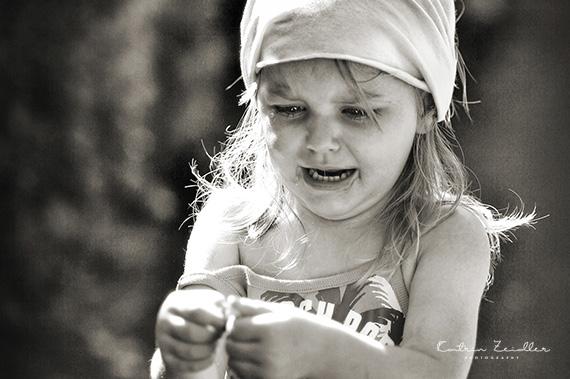Kinderporträt - das weinende Kind