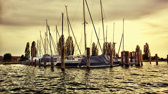 Landschaftsfotografie Bodensee Insel Reichenau Hafen