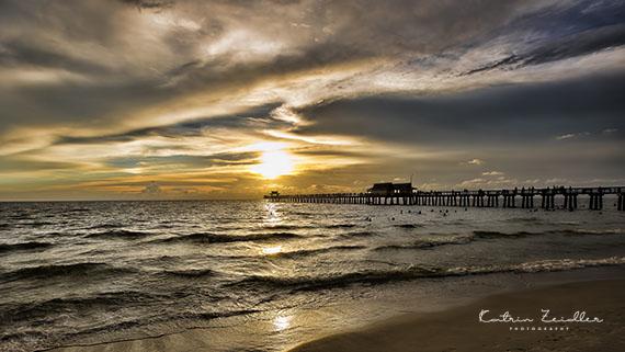 Landschaftsfotografie Florida Naples Sonnenuntergang