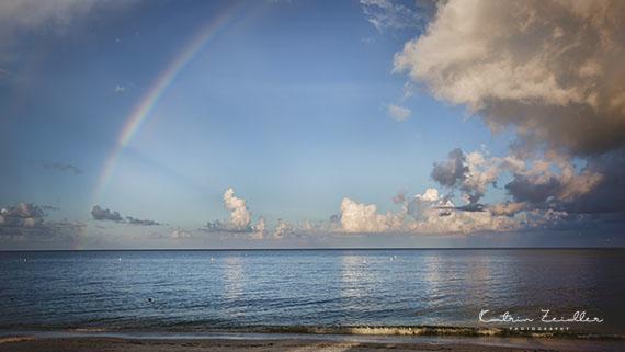 Landschaftsfotografie Florida Regenbogen