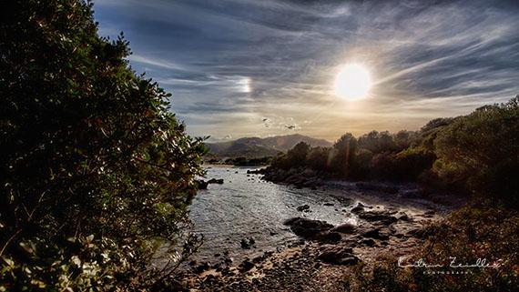 Landschaftsfotografie Sardinien Porto Ottiolu Abenddämmerung
