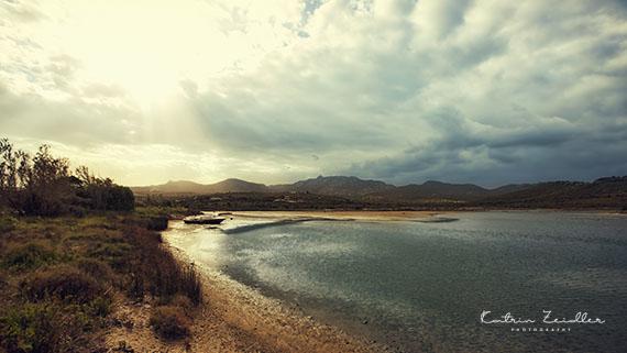 Landschaftsfotografie Sardinien di Bados Strand