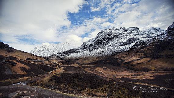 Landschaftsfotografie Schottland Three Sisters in Glencoe