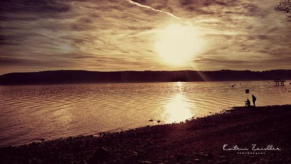 Landschaftsfotografie Überlingen Abendsonne Winter