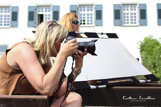 Modefotografie Backstage Impressionen