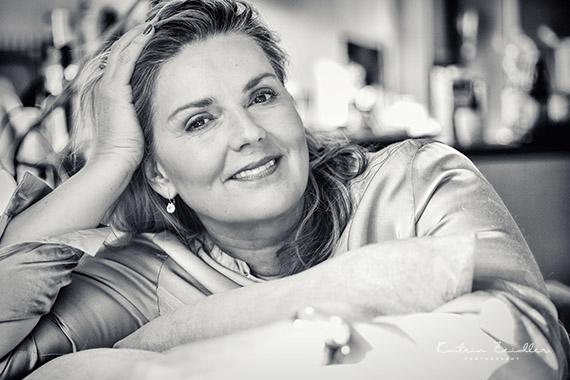 Porträtfotografie Berit entspannt