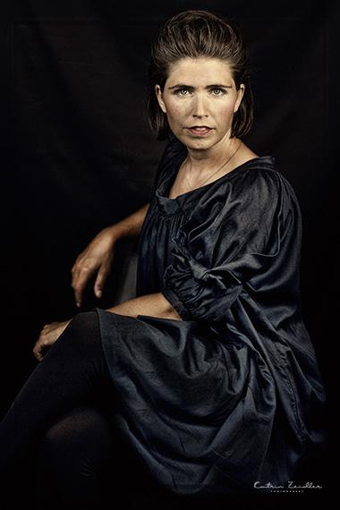 Porträtfotografie mit reduzierter Farbsättigung