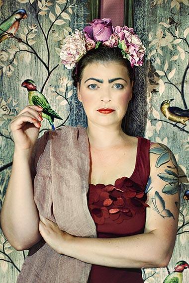 Porträtfoto - im Zeichen von Frida Kahlo