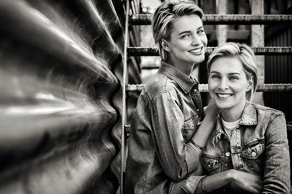 Fotografie - Meise-Zwillinge - Models & Moderatorinnen