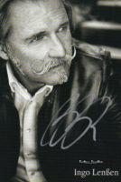 Autogrammkarte Udo Lenßen