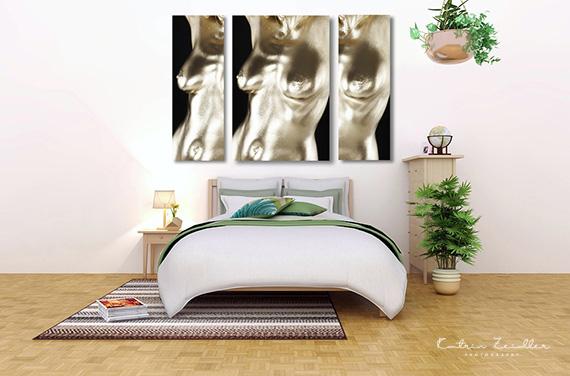 Werbefotografie Produkt - Bild als Mockup Schlafzimmer