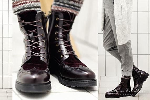 Werbefotografie - Schuhe getragen am Körper