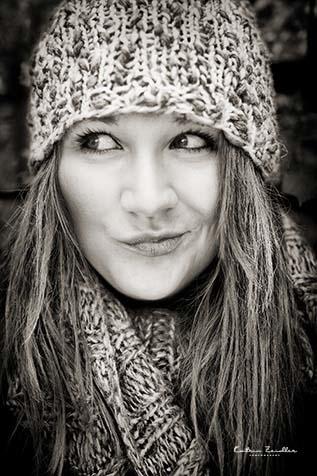 Perfekte Fotos - Lächelndes Mädchen