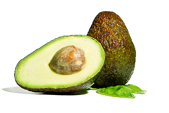 Avocado geöffnet