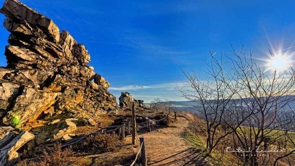 Teufelsmauer Harz - Wanderweg