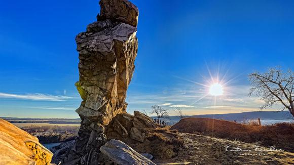 Teufelsmauer Harz - Der Fels