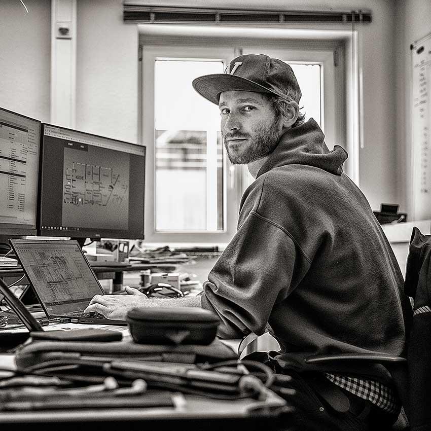 Programmierer Pascal Weber