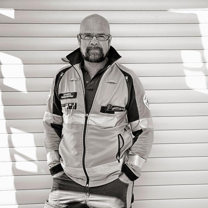Rettungssanitäter Reinhard Klees Friedrichshafen