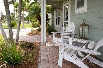 Businessfoto Ferienhaus Terrasse Florida