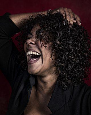 Porträtfotografie lachende Frau